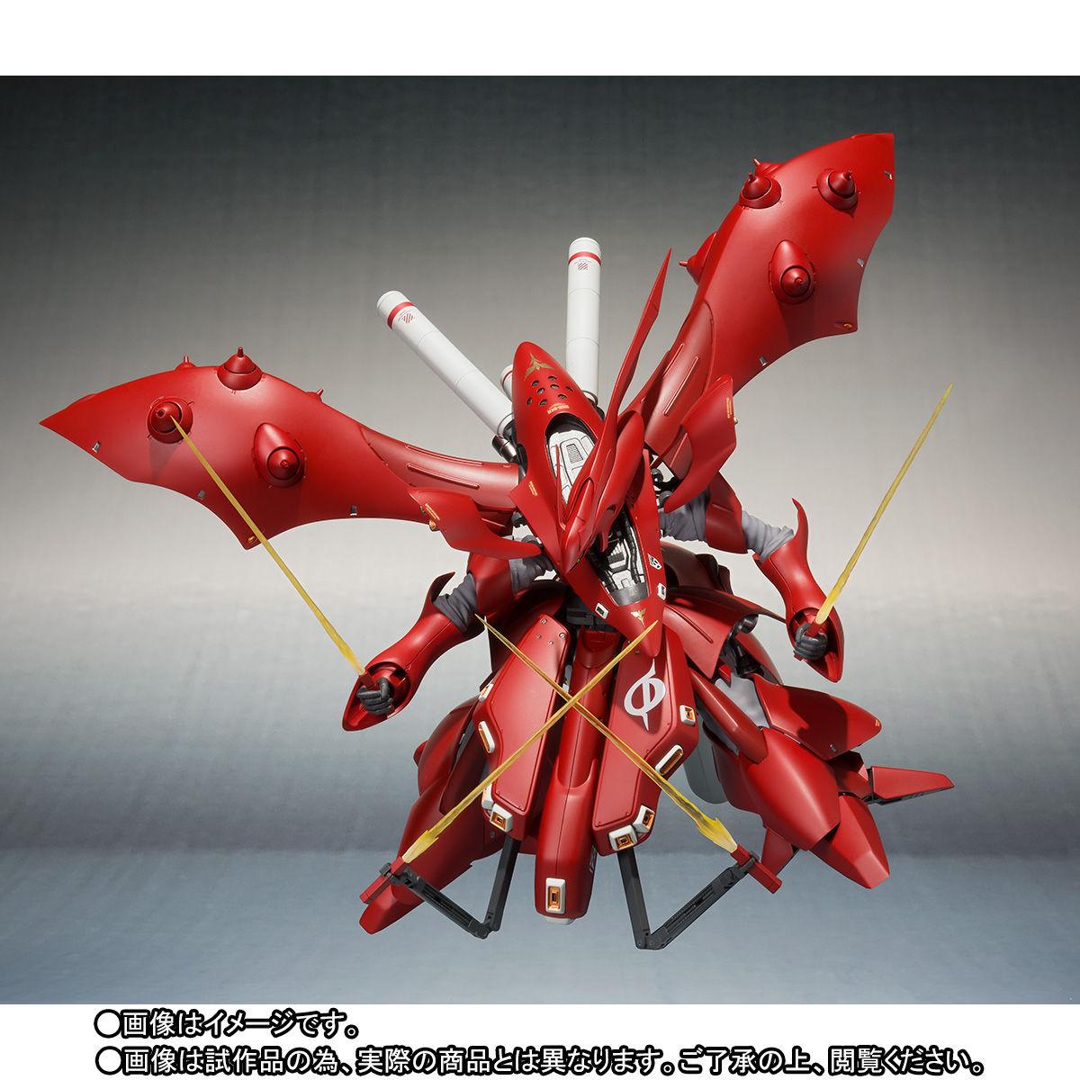 ROBOT魂 <SIDE MS>『ナイチンゲール(重塗装仕様)』可動フィギュア-004