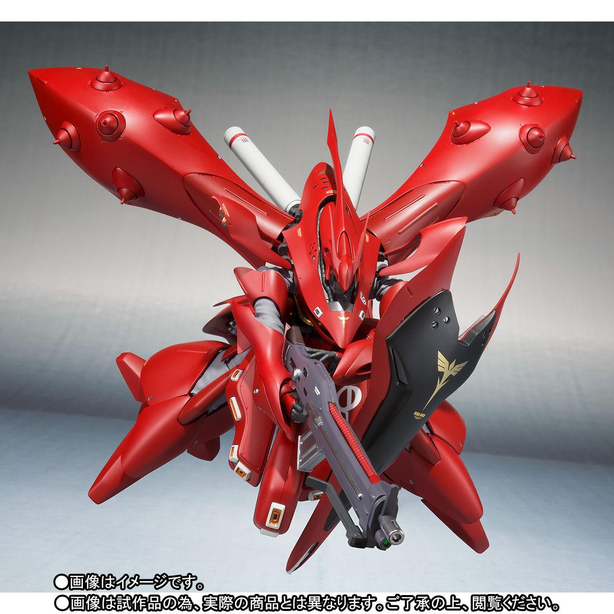 ROBOT魂 <SIDE MS>『ナイチンゲール(重塗装仕様)』可動フィギュア-007