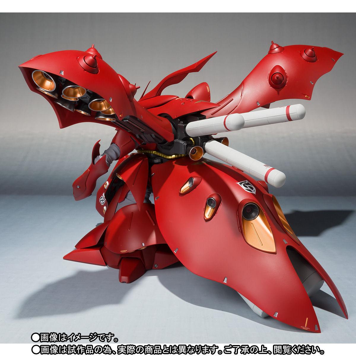 ROBOT魂 <SIDE MS>『ナイチンゲール(重塗装仕様)』可動フィギュア-009