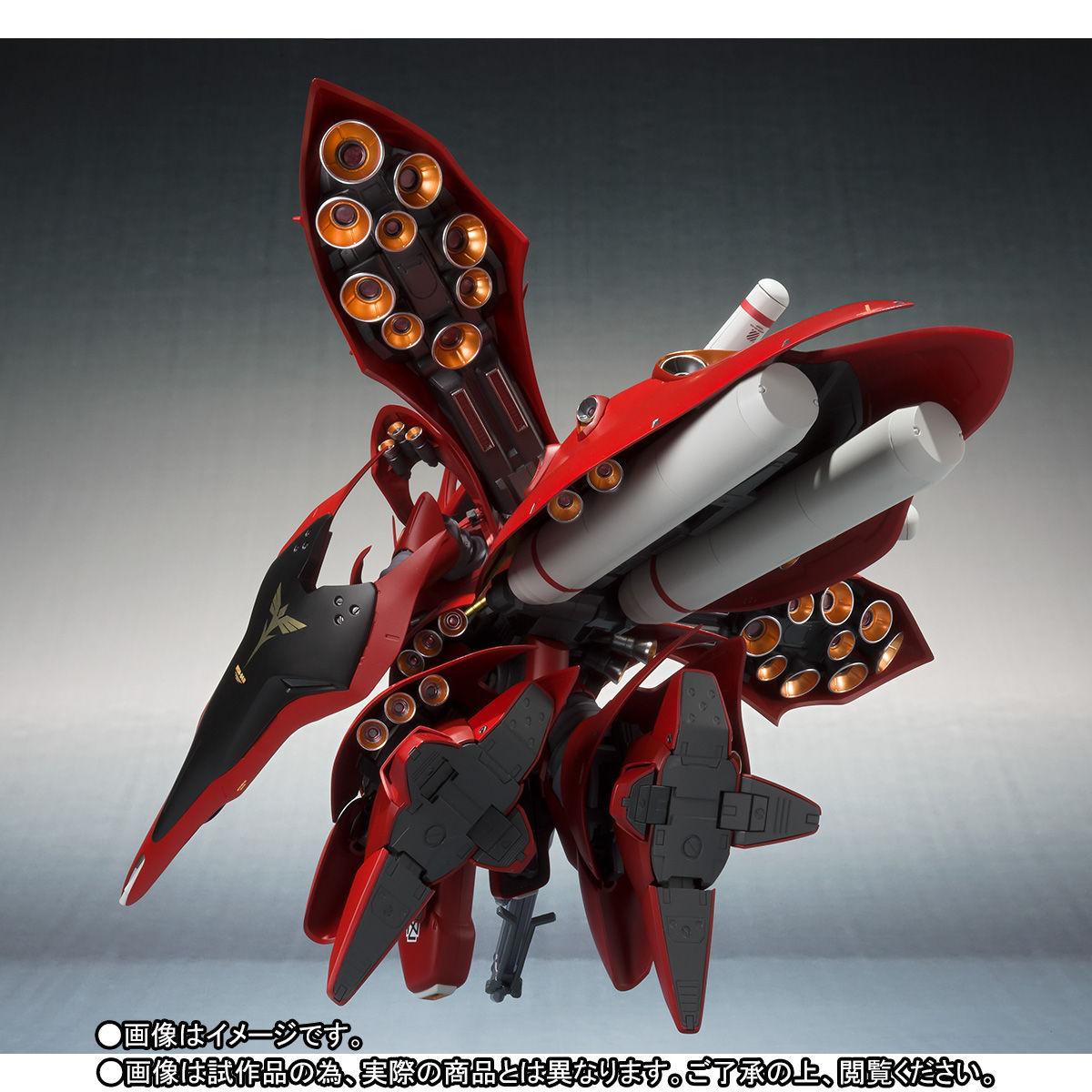 ROBOT魂 <SIDE MS>『ナイチンゲール(重塗装仕様)』可動フィギュア-010