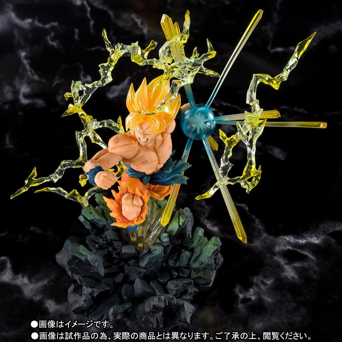 フィギュアーツZERO『スーパーサイヤ人孫悟空 -熱戦-』ドラゴンボールZ 完成品フィギュア-002