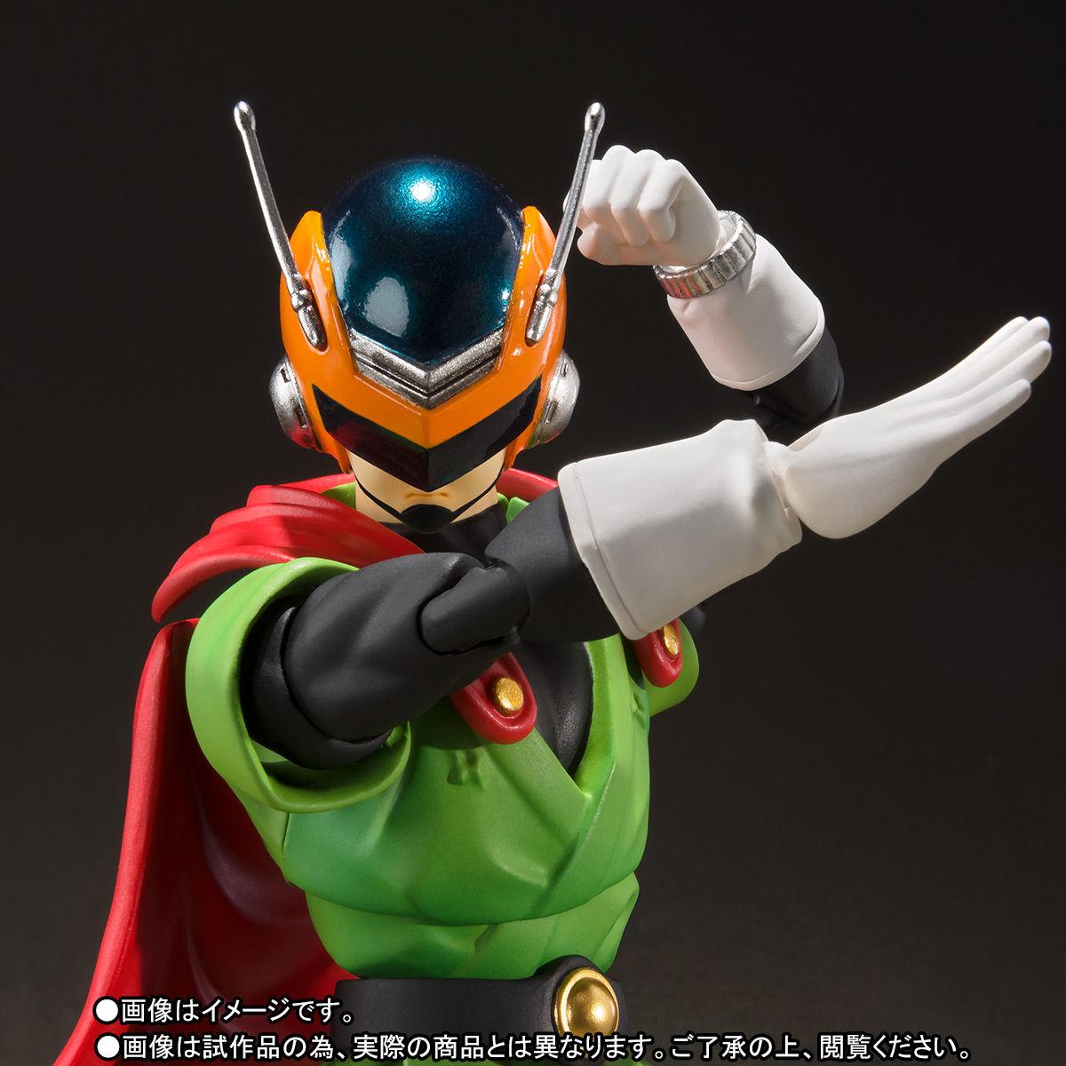 S.H.フィギュアーツ『グレートサイヤマン』ドラゴンボールZ 可動フィギュア-001