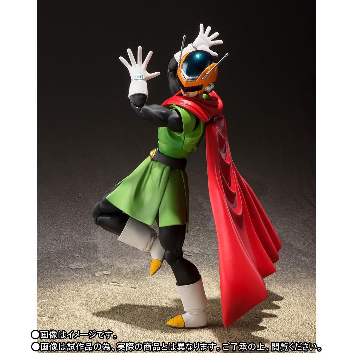 S.H.フィギュアーツ『グレートサイヤマン』ドラゴンボールZ 可動フィギュア-002