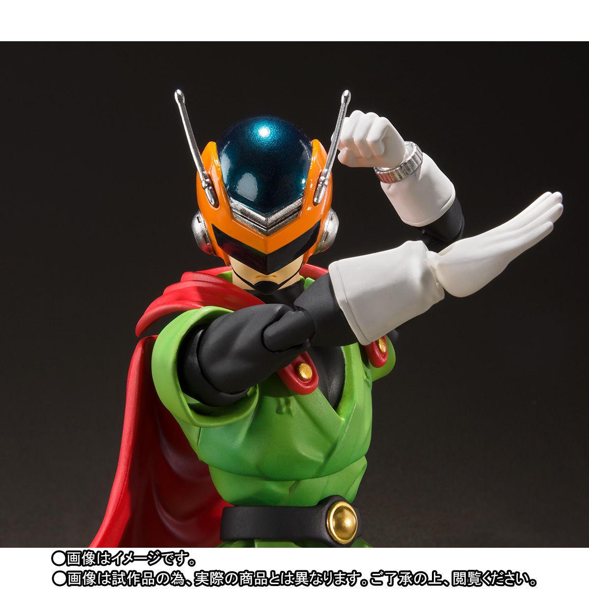 S.H.フィギュアーツ『グレートサイヤマン』ドラゴンボールZ 可動フィギュア-003