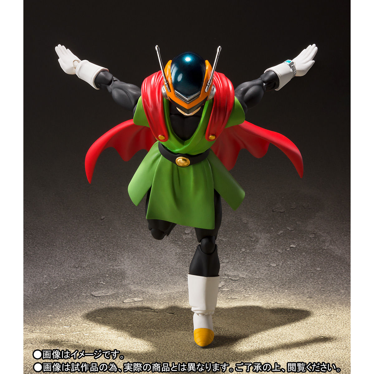 S.H.フィギュアーツ『グレートサイヤマン』ドラゴンボールZ 可動フィギュア-004