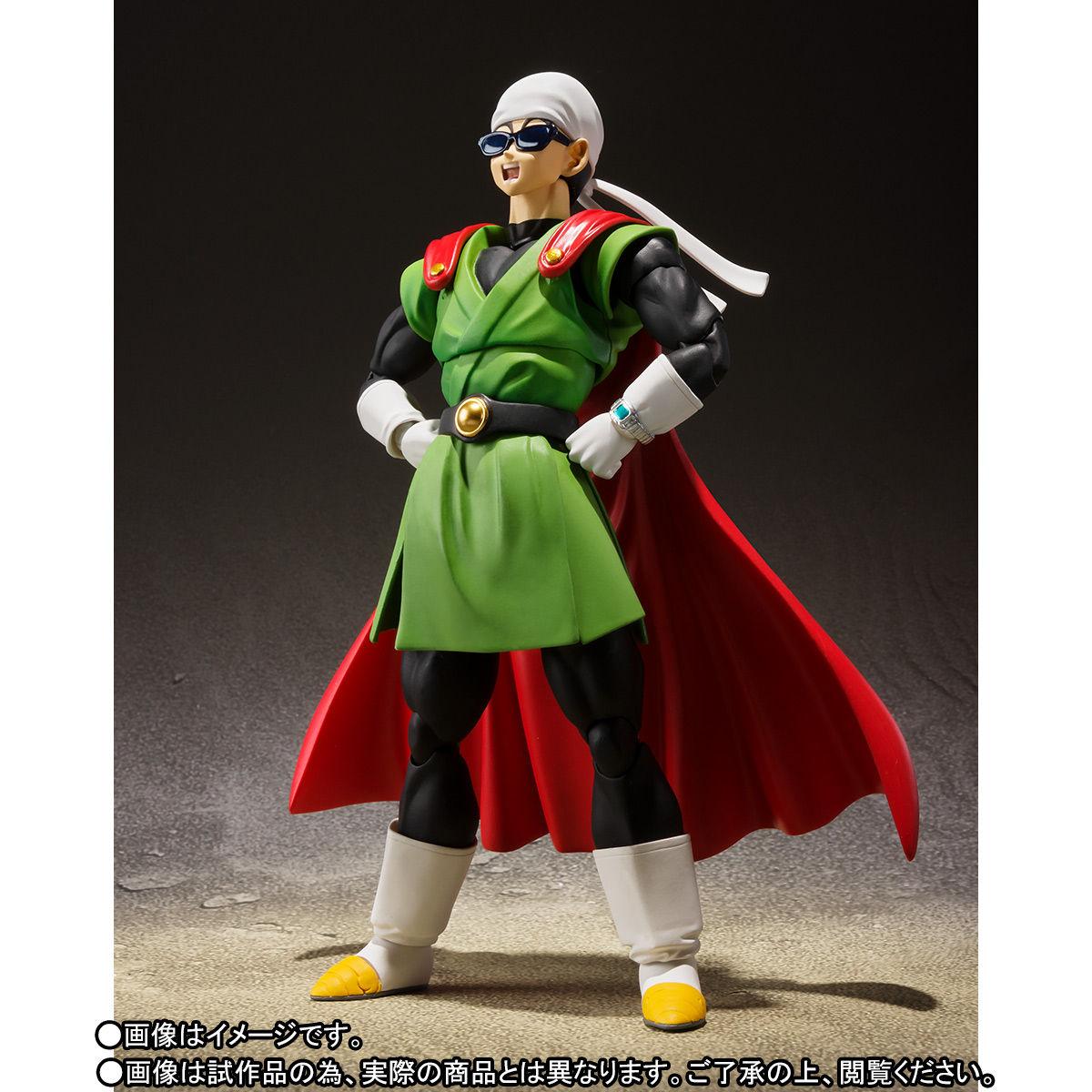 S.H.フィギュアーツ『グレートサイヤマン』ドラゴンボールZ 可動フィギュア-006