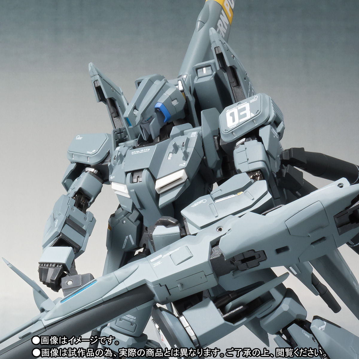 METAL ROBOT魂(Ka signature)<SIDE MS>『ゼータプラス C1(03 シグマン機)』可動フィギュア-001