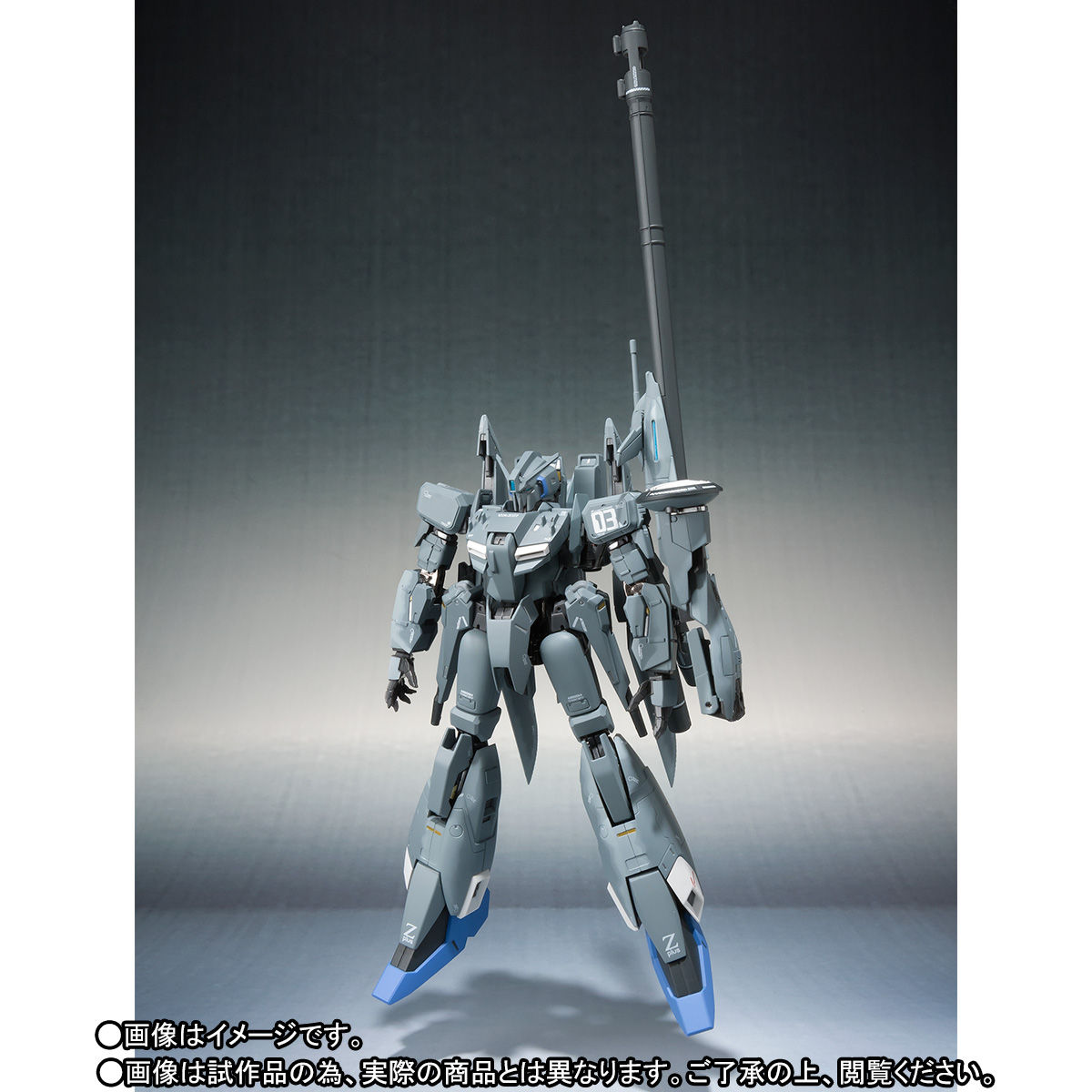 METAL ROBOT魂(Ka signature)<SIDE MS>『ゼータプラス C1(03 シグマン機)』可動フィギュア-004