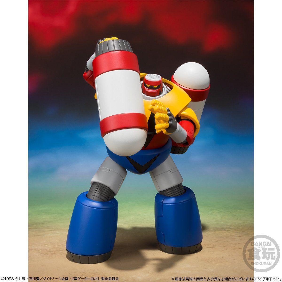 【食玩】スーパーミニプラ『真(チェンジ!!)ゲッターロボ Vol.3』セット-005