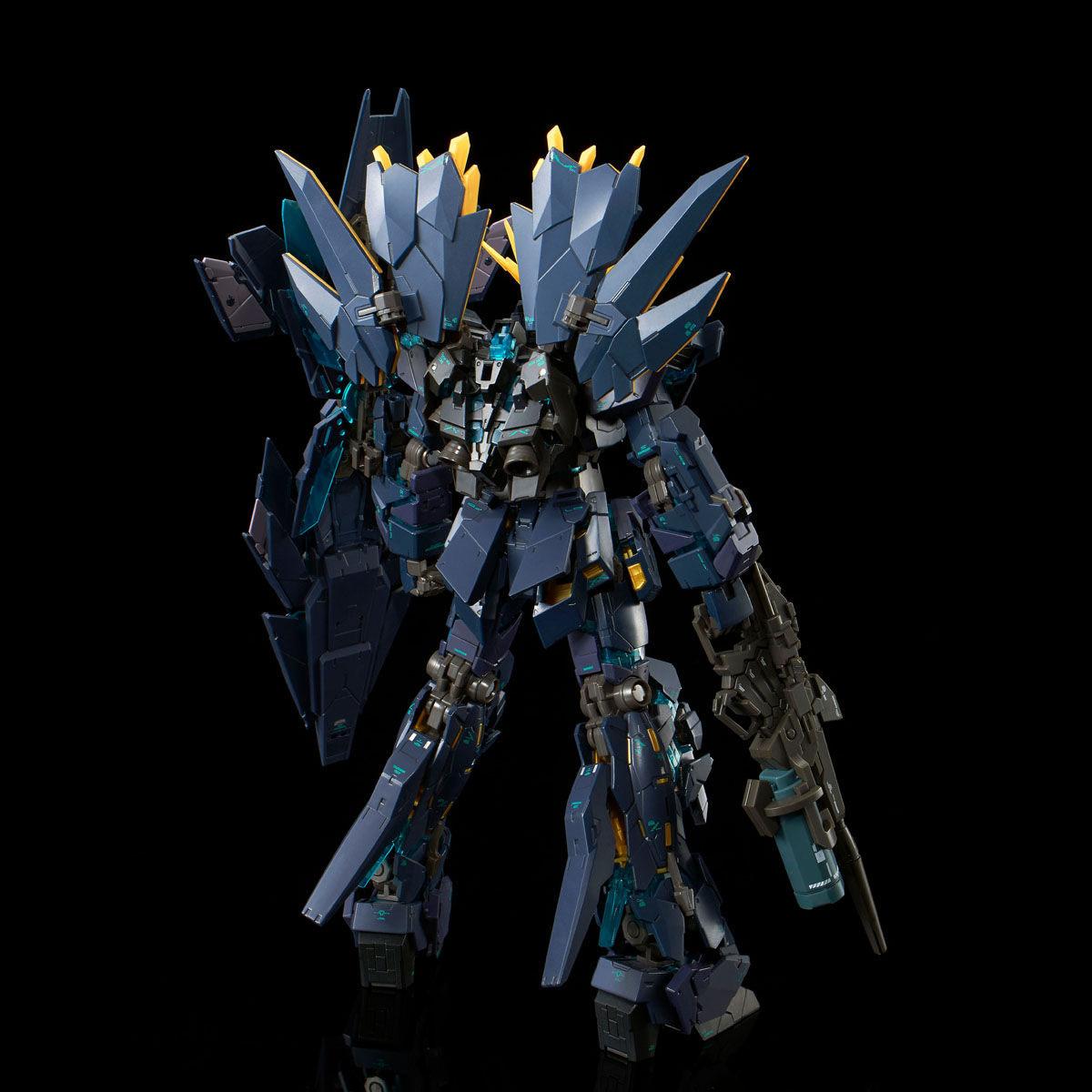 RG 1/144『ユニコーンガンダム2号機 バンシィ・ノルン(最終決戦仕様)』プラモデル-003