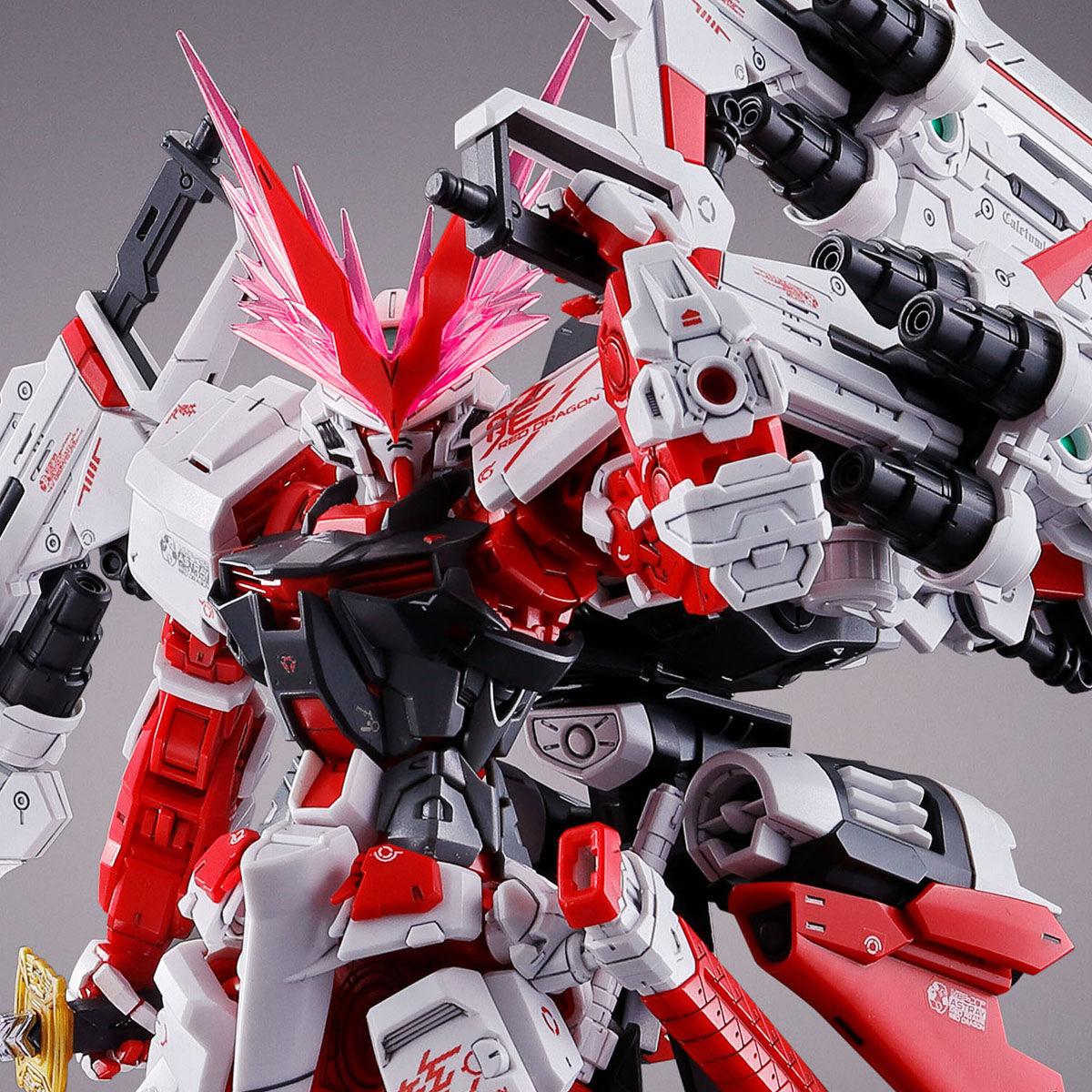 MG 1/100『ガンダムアストレイ レッドドラゴン』ガンダムSEED ASTRAY プラモデル-001