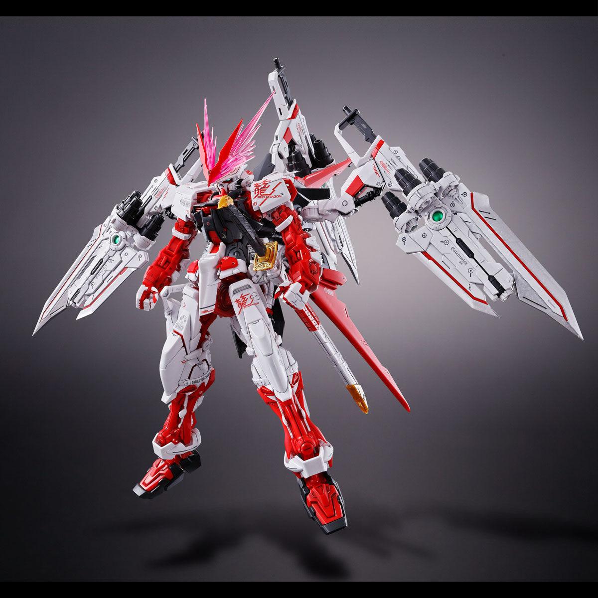 MG 1/100『ガンダムアストレイ レッドドラゴン』ガンダムSEED ASTRAY プラモデル-003
