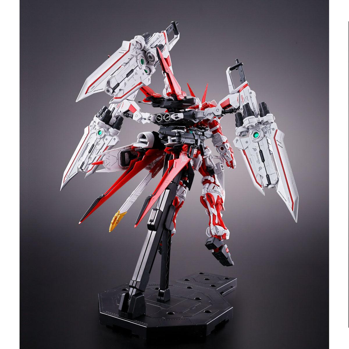 MG 1/100『ガンダムアストレイ レッドドラゴン』ガンダムSEED ASTRAY プラモデル-004