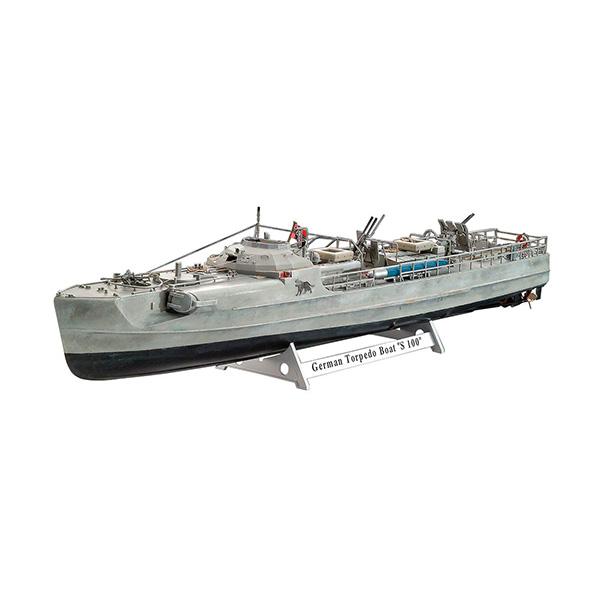 1/72『ドイツ魚雷艇 S100』プラモデル