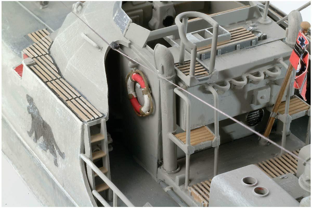 1/72『ドイツ魚雷艇 S100』プラモデル-002