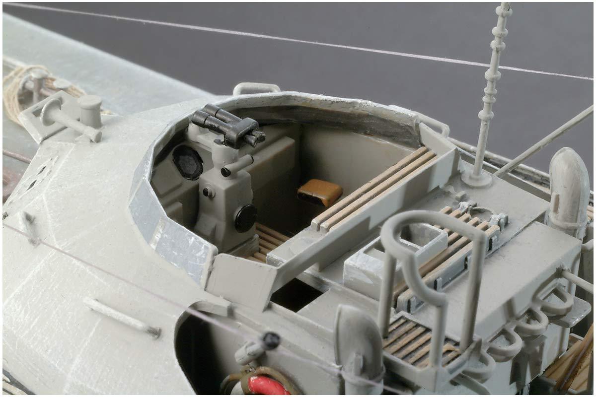 1/72『ドイツ魚雷艇 S100』プラモデル-004