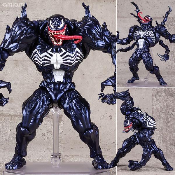 【再販】アメイジング・ヤマグチ No.003『ヴェノム』スパイダーマン 可動フィギュア