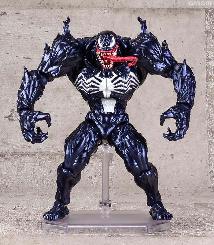 【再販】アメイジング・ヤマグチ No.003『ヴェノム』スパイダーマン 可動フィギュア-001