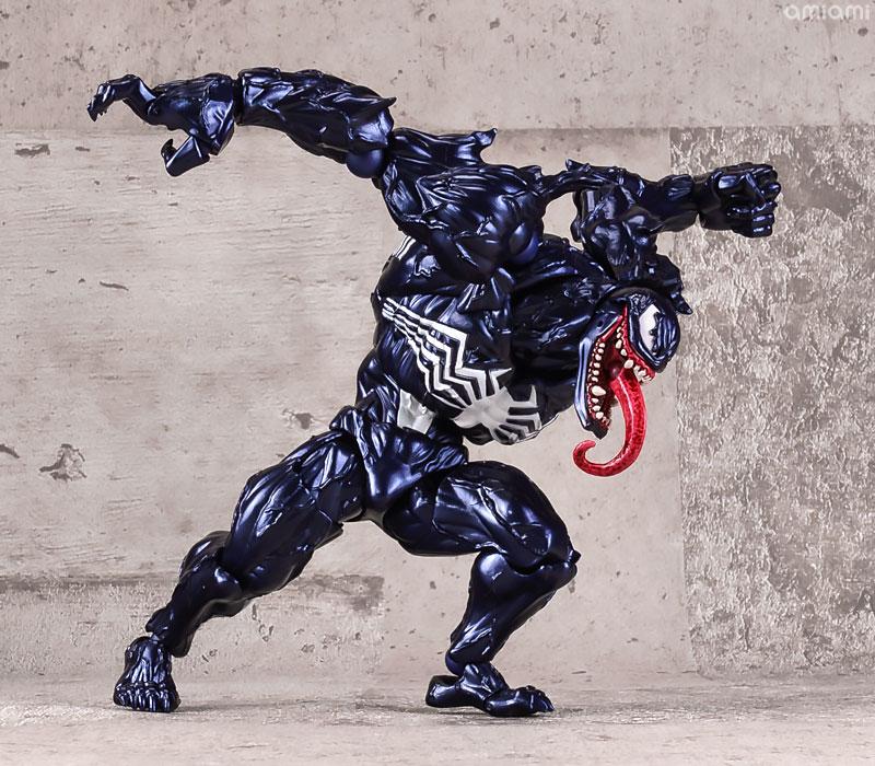 【再販】アメイジング・ヤマグチ No.003『ヴェノム』スパイダーマン 可動フィギュア-004