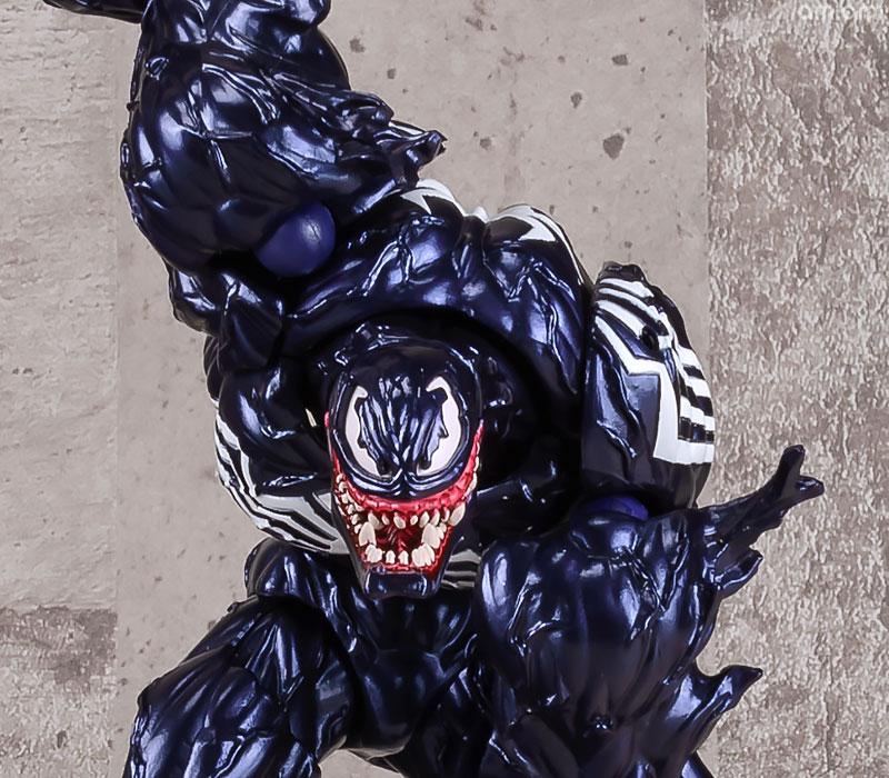 【再販】アメイジング・ヤマグチ No.003『ヴェノム』スパイダーマン 可動フィギュア-006