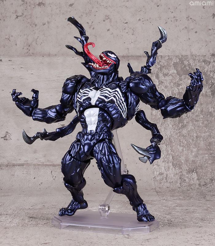 【再販】アメイジング・ヤマグチ No.003『ヴェノム』スパイダーマン 可動フィギュア-009