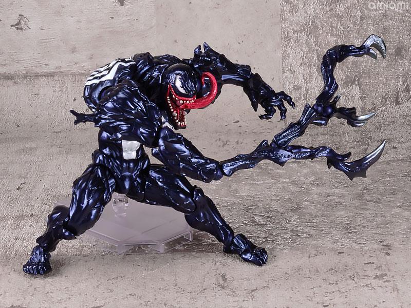 【再販】アメイジング・ヤマグチ No.003『ヴェノム』スパイダーマン 可動フィギュア-010