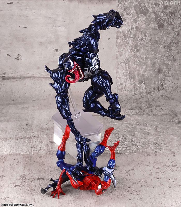 【再販】アメイジング・ヤマグチ No.003『ヴェノム』スパイダーマン 可動フィギュア-011