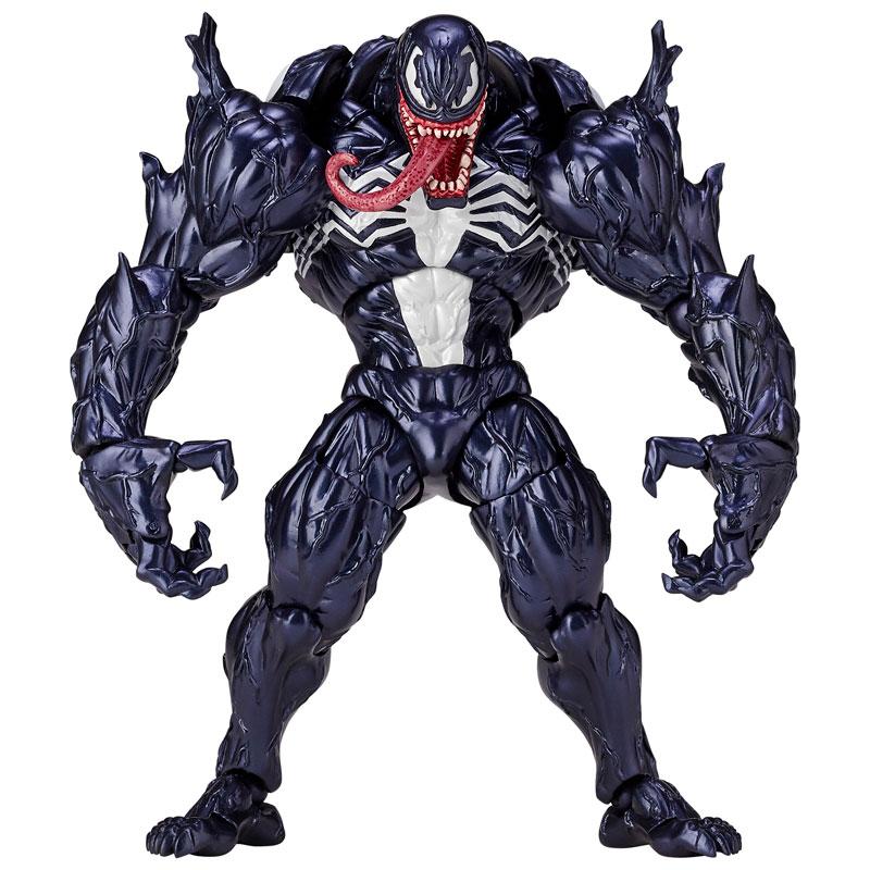 【再販】アメイジング・ヤマグチ No.003『ヴェノム』スパイダーマン 可動フィギュア-013