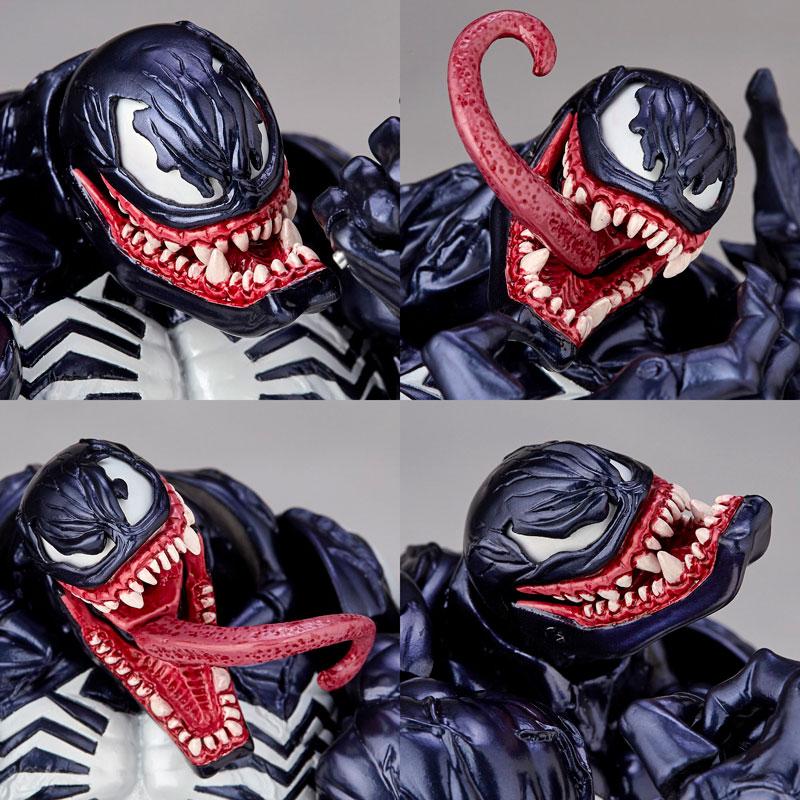 【再販】アメイジング・ヤマグチ No.003『ヴェノム』スパイダーマン 可動フィギュア-024