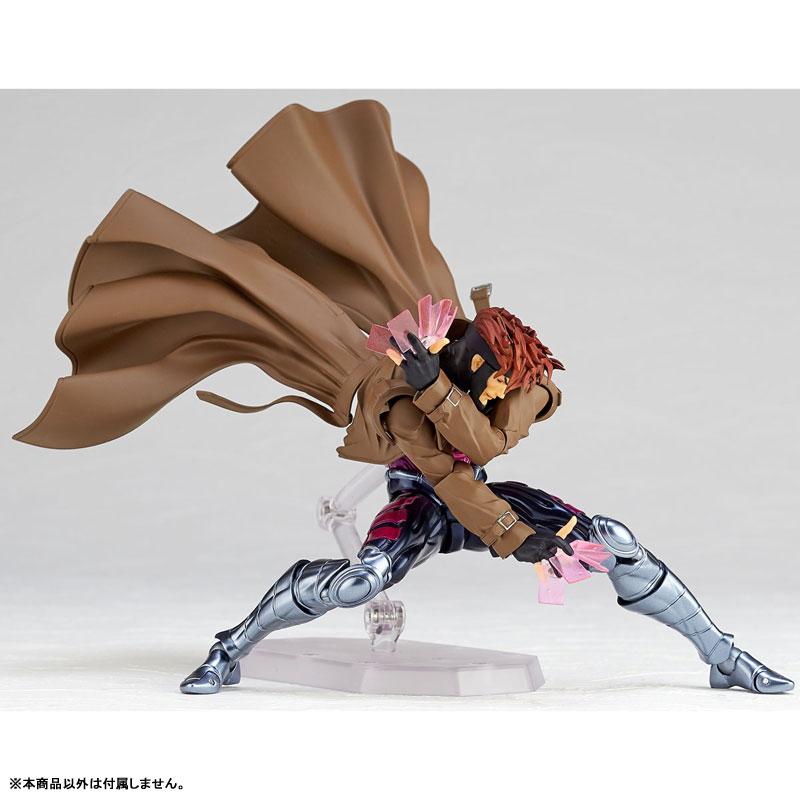 フィギュアコンプレックス アメイジング・ヤマグチ No.012『ガンビット』X-MEN 可動フィギュア-003
