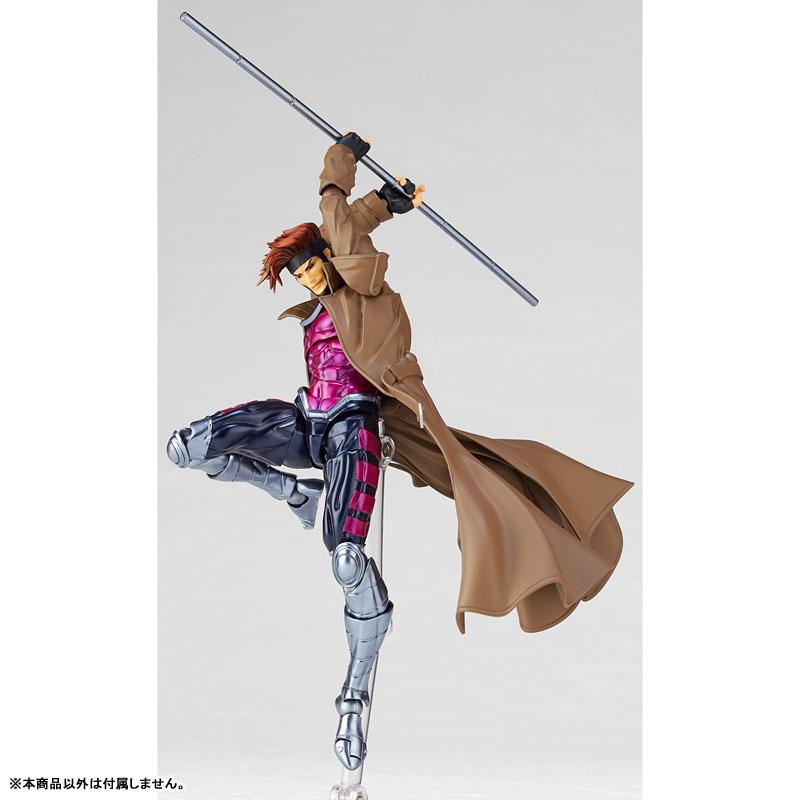 フィギュアコンプレックス アメイジング・ヤマグチ No.012『ガンビット』X-MEN 可動フィギュア-004