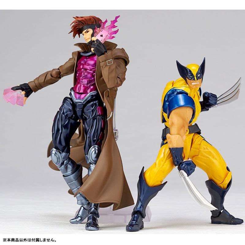 フィギュアコンプレックス アメイジング・ヤマグチ No.012『ガンビット』X-MEN 可動フィギュア-008