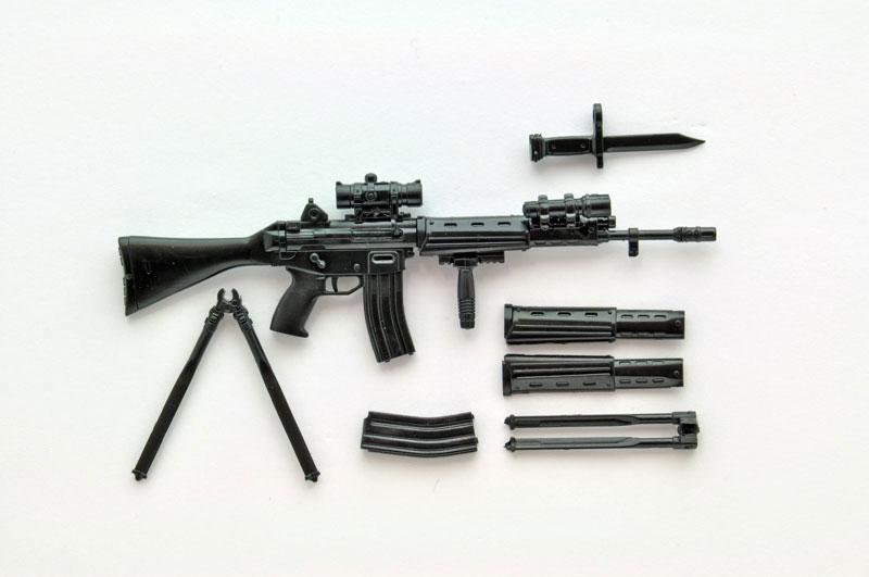 リトルアーモリー[LS01]『89式小銃(閉所戦仕様)豊崎恵那ミッションパック』1/12 プラモデル-001