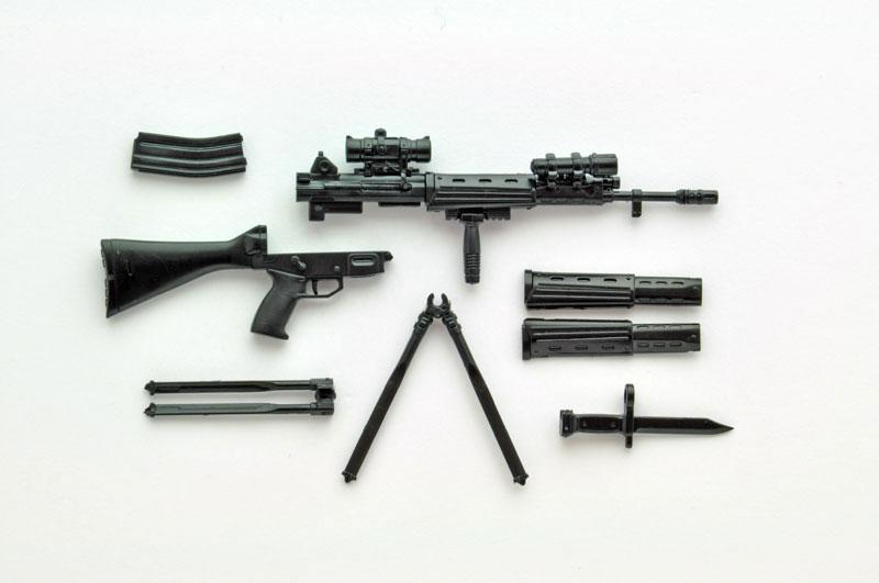リトルアーモリー[LS01]『89式小銃(閉所戦仕様)豊崎恵那ミッションパック』1/12 プラモデル-007