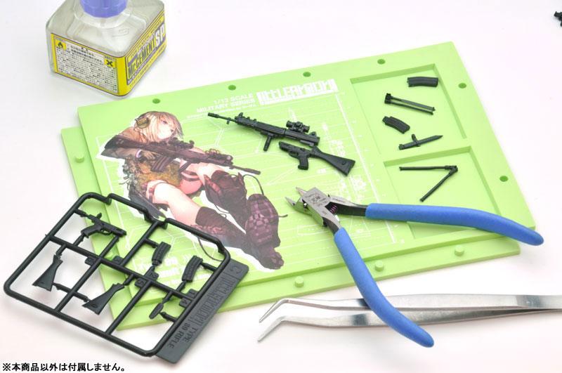 リトルアーモリー[LS01]『89式小銃(閉所戦仕様)豊崎恵那ミッションパック』1/12 プラモデル-021