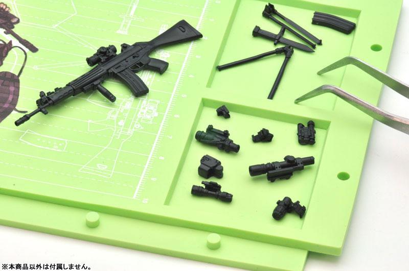 リトルアーモリー[LS01]『89式小銃(閉所戦仕様)豊崎恵那ミッションパック』1/12 プラモデル-022