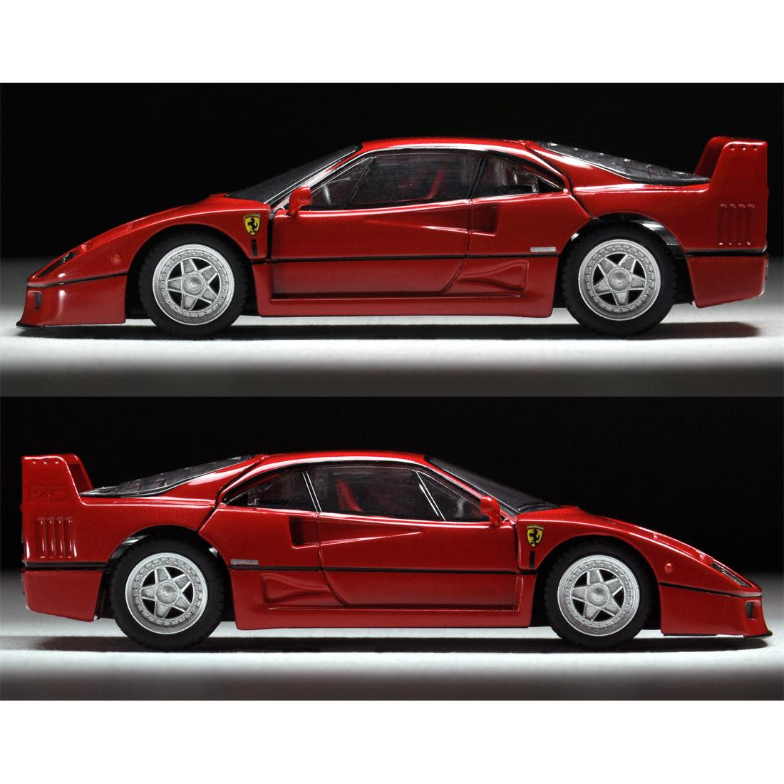 トミカリミテッドヴィンテージ ネオ TLV-NEO『フェラーリF40(赤)』ミニカー-005