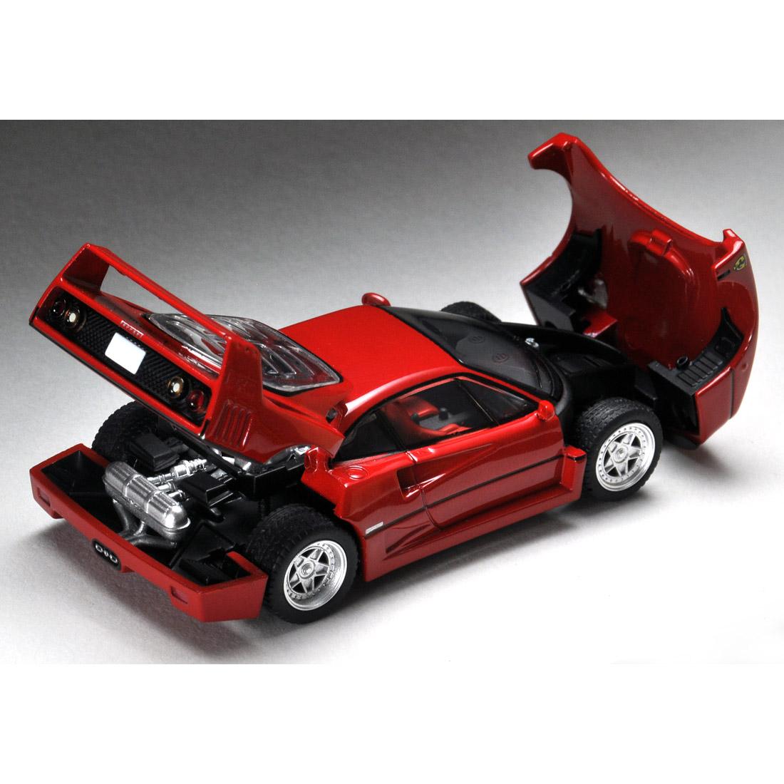 トミカリミテッドヴィンテージ ネオ TLV-NEO『フェラーリF40(赤)』ミニカー-006