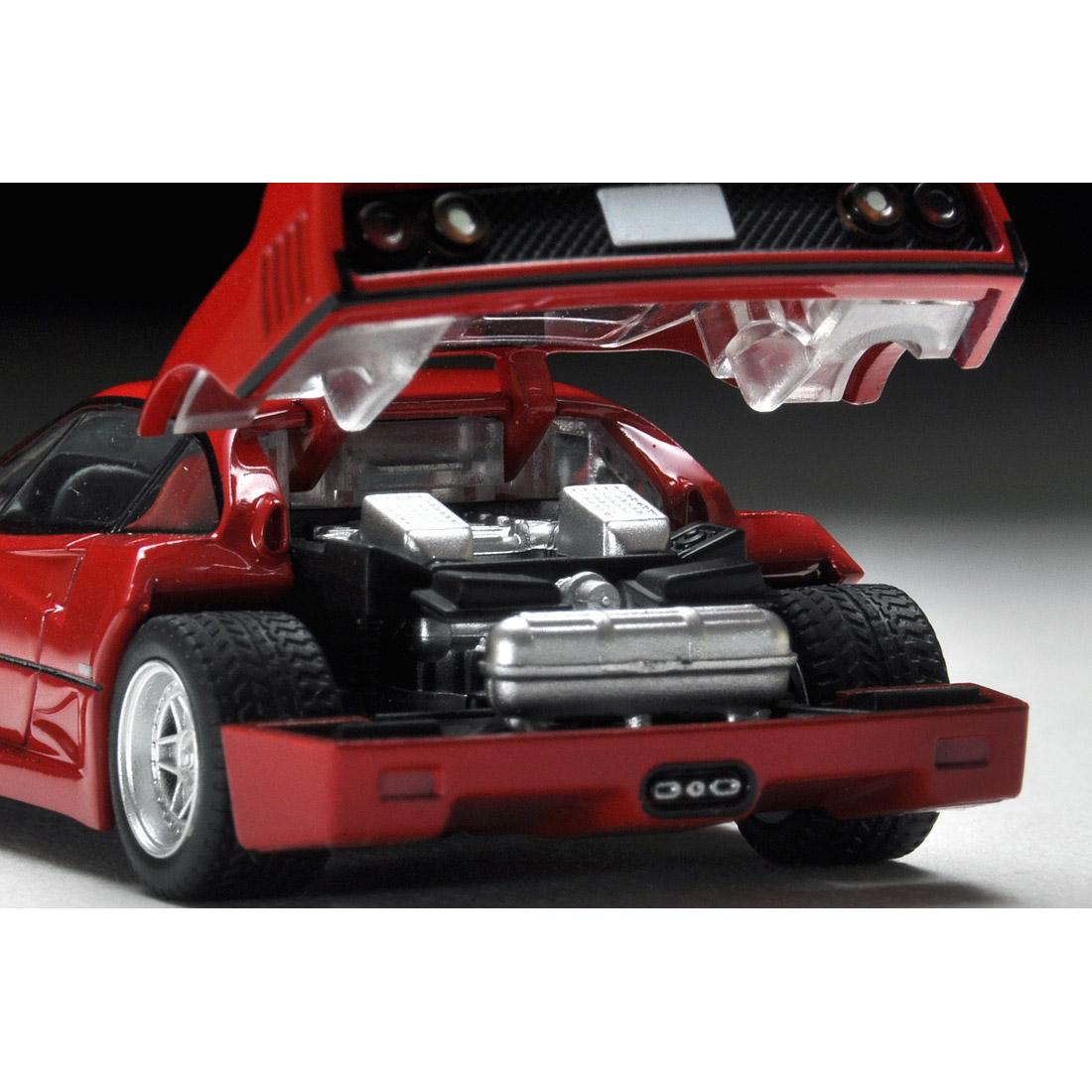 トミカリミテッドヴィンテージ ネオ TLV-NEO『フェラーリF40(赤)』ミニカー-007