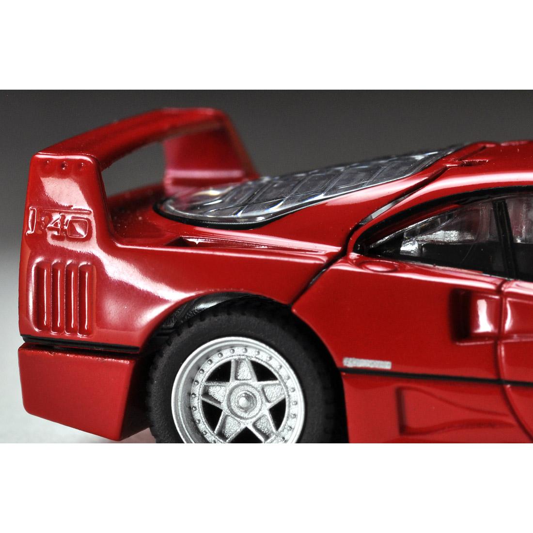トミカリミテッドヴィンテージ ネオ TLV-NEO『フェラーリF40(赤)』ミニカー-009