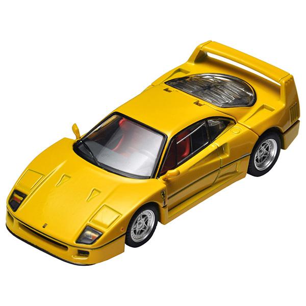 【タカラトミーモールオリジナル】トミカリミテッドヴィンテージ ネオ TLV-NEO『フェラーリF40(黄)』ミニカー