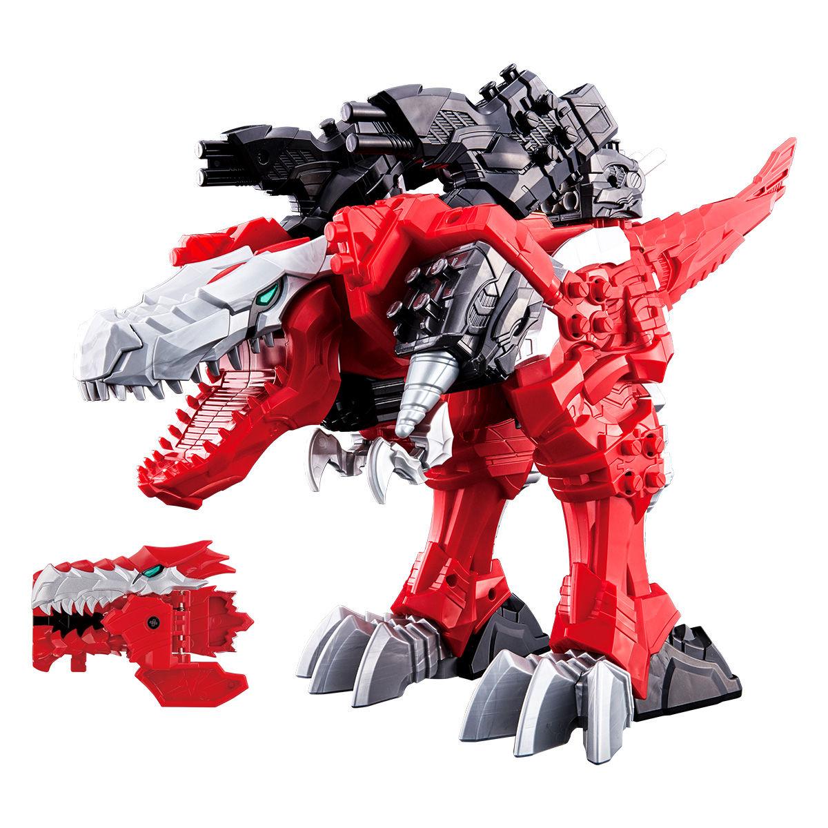騎士竜戦隊リュウソウジャー『騎士竜シリーズ01 竜装合体 DXキシリュウオー』可変可動フィギュア-001