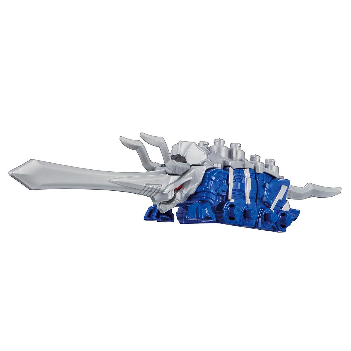 騎士竜戦隊リュウソウジャー『騎士竜シリーズ02&03 DXトリケーン&アンキローゼ』可変可動フィギュア-003