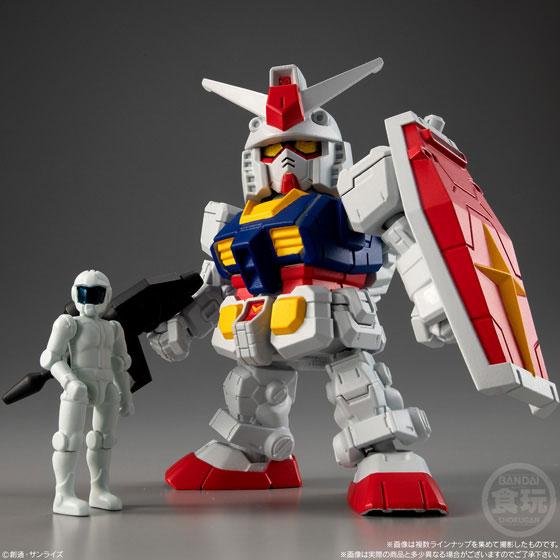 【食玩】機動戦士ガンダム『マイクロウォーズ』10個入りBOX-001