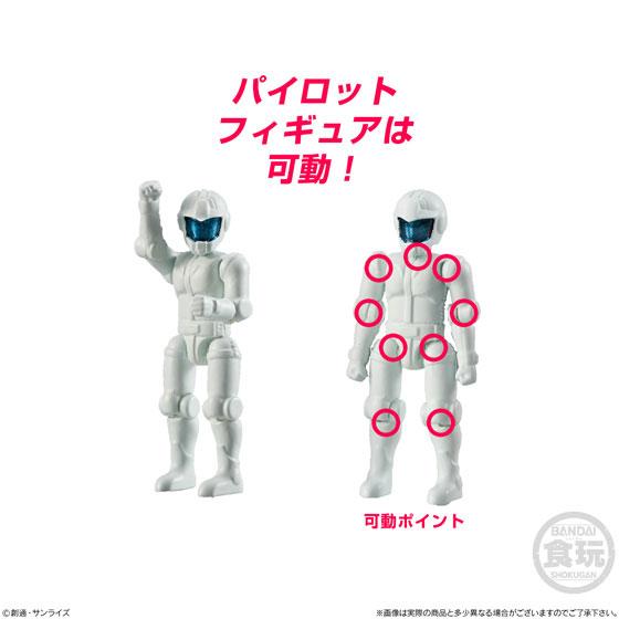 【食玩】機動戦士ガンダム『マイクロウォーズ』10個入りBOX-007