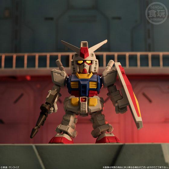 【食玩】機動戦士ガンダム『マイクロウォーズ』10個入りBOX-009