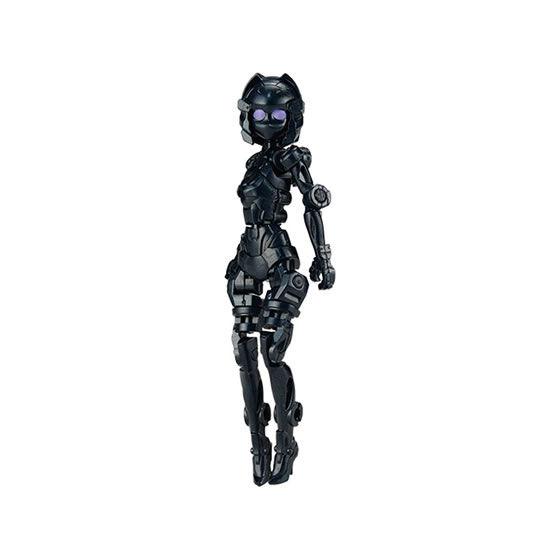 UNLIMITS PROJECT『換装重機CC(コミットコンバット)コミットさん』ガシャポン 可動フィギュア-007