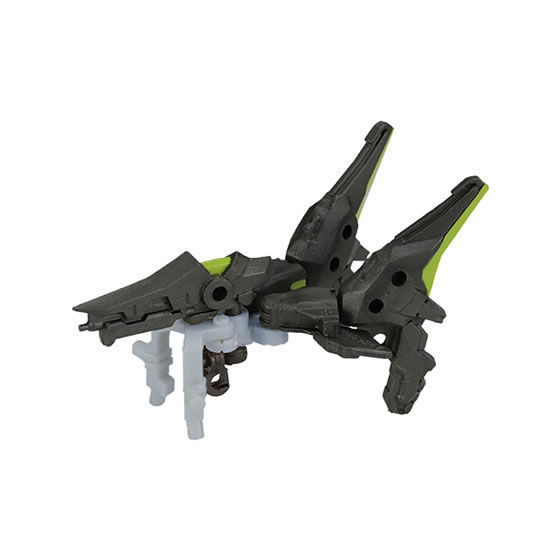 UNLIMITS PROJECT『換装重機CC(コミットコンバット)コミットさん』ガシャポン 可動フィギュア-011