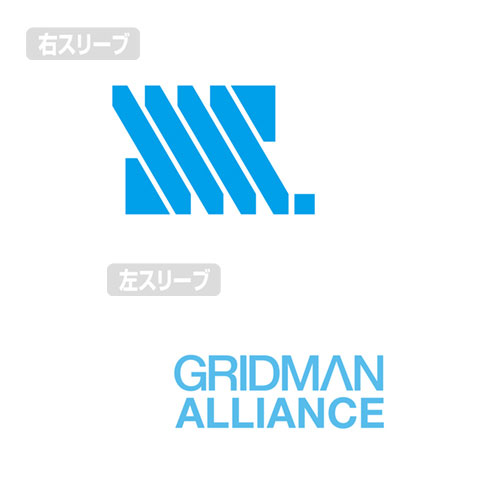 SSSS.GRIDMAN『宝多六花 両面フルグラフィックTシャツ〔Sサイズ〕』Tシャツ-004
