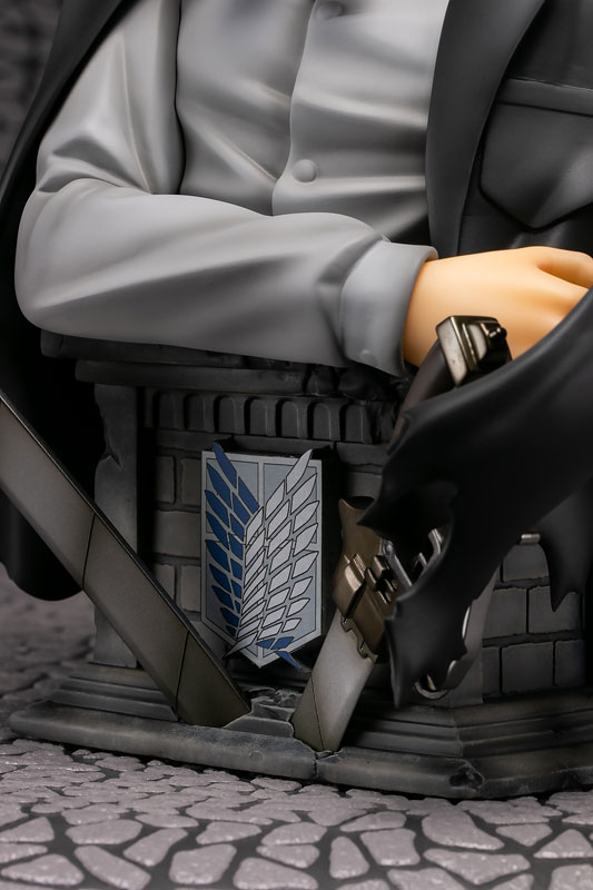 進撃の巨人『リヴァイ 胸像フィギュア カラーver』1/3 完成品フィギュア-008